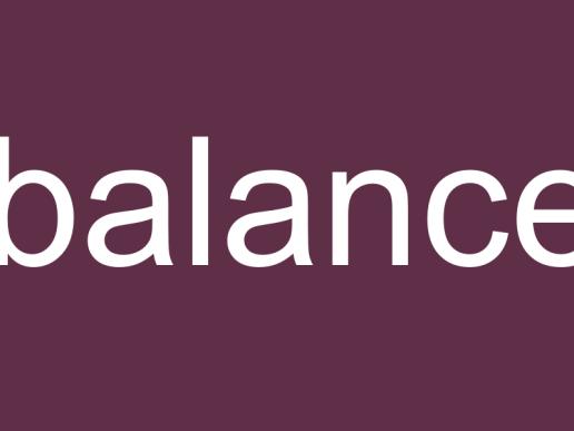 wasting words - balance