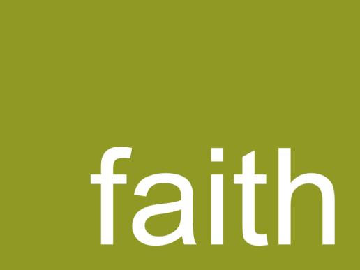 wasting words - faith