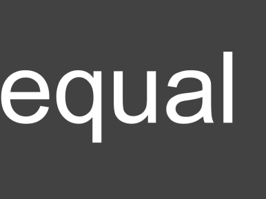 Wasting Words - equal