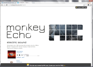 the new www.monkeyecho.de
